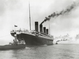 RMS Titanic Ready for Her Maiden Voyage, 04/02/1912. Photographic Print