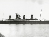 RMS Titanic Nearing Completion, 01/08/1912. Photographic Print