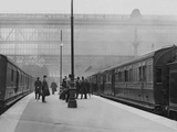 Titanic Special at Waterloo Station Bound for Southampton. Photographic Print