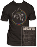 Pink Floyd - World Tour Shirts