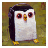 Hip Hopenguin II Print by Aaron Jasinski