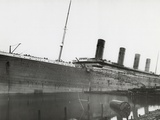 RMS Titanic During Fitting Out, 01/01/1912. Photographic Print