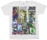 Jimi Hendrix- Hendrix Collage T-shirts