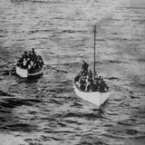 Titanic Lifeboats. Photographic Print