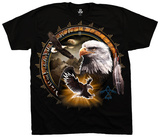 Nature- Eagle Dreamcatcher T-skjorter