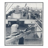 Illustration of the Stern and Sun Deck. Photographic Print