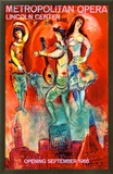 Metropolitan Opera Framed Giclee Print by Marc Chagall