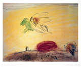 Le Cantique des Cantiques IV Collectable Print by Marc Chagall