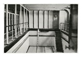 A Photograph of the Swimming Bath on Titanic. Photographic Print