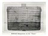 Titanic Cross Section. Photographic Print