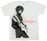 Jimi Hendrix- Paisley Portrait Shirts