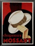 Chapeaux Mossant Prints by  Olsky