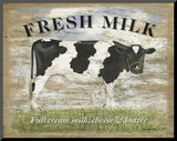 Fresh Milk Mounted Print by Martin Wiscombe