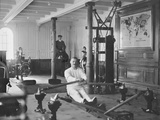 Gymnasium of White Star Liner, RMS Titanic. Photographie