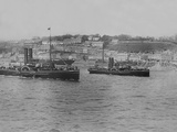Two Cobh Tenders. &#39;Flying Fox&#39; in the Foreground; &#39;Flying Fish&#39; in Mid Distance. Photographic Print