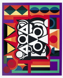 Composition Collectable Print by Auguste Herbin