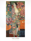 The Dancer, 1916 Affiches par Gustav Klimt