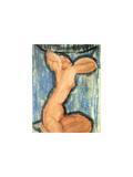 Cariatide, c.1913-14 Serigraph by Amedeo Modigliani