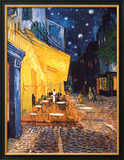 The Cafe Terrace on the Place du Forum, Arles, at Night, c.1888 Print by Vincent van Gogh