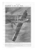 Illustration Showing the Titanic Sinking. Photographic Print