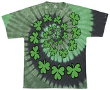Shamrock Spiral T-shirts