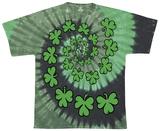 Shamrock Spiral T-shirts
