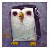 Hip Hopenguin III Giclee Print by Aaron Jasinski