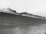 RMS Titanic Launched, 31/05/1911. Photographic Print