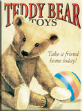 Teddy Bear Tin Sign