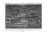 Article - Titanic Sinking. Photographic Print