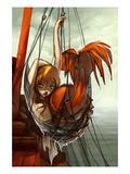 La sirène Affiches par Camilla D'Errico