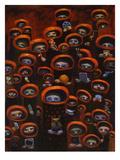 Aaron Jasinski - Priests of Preoccupation Umělecké plakáty