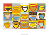 Colour Bowls, c.2009 Serigraph by Gordon Hopkins