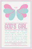 Butterfly Girl Plakater
