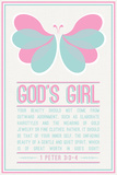 Butterfly Girl Prints