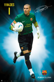 Fc Barcelona - Victor Valdes Capitan 3 (93) 2011/2012 Prints