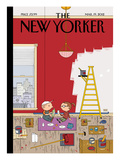 The New Yorker Cover - March 19, 2012 Premium Giclee Print by Ivan Brunetti