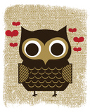 Owl Always Love You Serigrafa por Hero Design