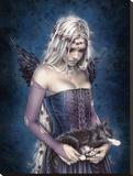 Victoria Frances-Angel of Death Reproduction transférée sur toile