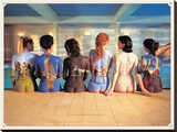 Pink Floyd-Back Catalogue Stretched Canvas Print