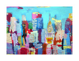 Manhattan 48, c.2009 Premium Giclee Print by Alison Black