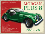 Morgan Plus 8 Tin Sign