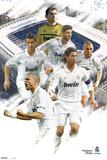 Real Madrid -  verschiedene Spieler 2011/2012 Kunstdrucke