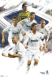 Real Madrid Varios Jugadores 2011/2012 Posters
