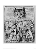 The Cheshire Cat Giclee Print by John Tenniel