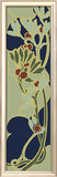 Nouveau Floral Panel II Framed Giclee Print by Armand Guerinet