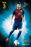 Fc Barcelona - Gerard Pique 2011/2012 Posters