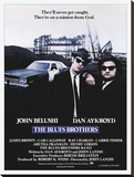 Blues Brothers-One Sheet Reproduction transférée sur toile