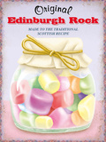 Edinburgh Rock Tin Sign