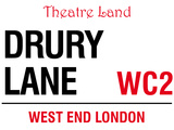 Drury Lane Tin Sign